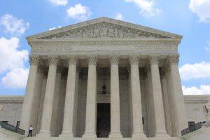 Supreme court exterior.