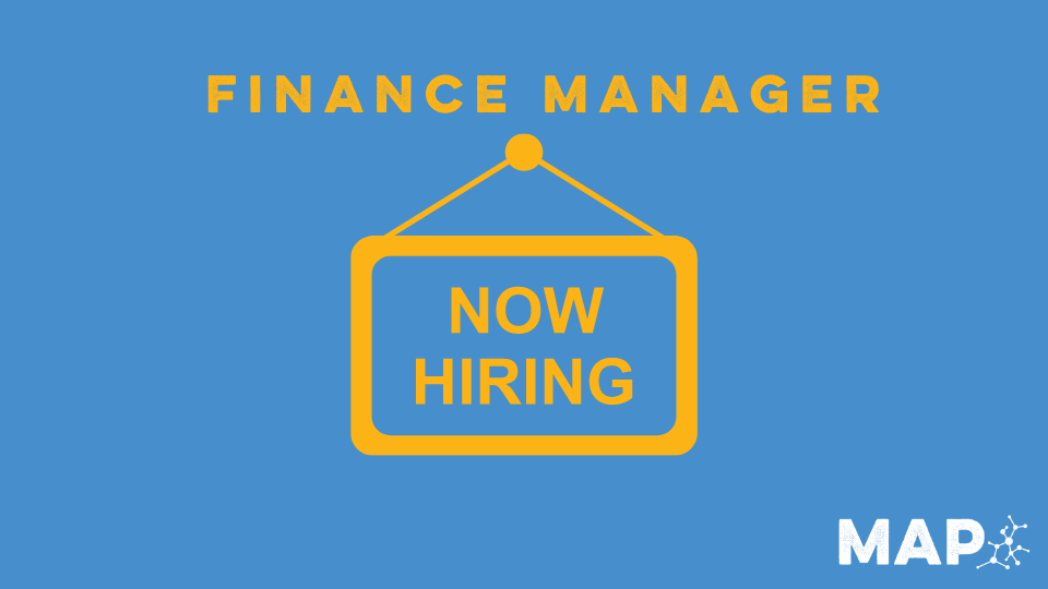 Announcing job opening for finance manager position