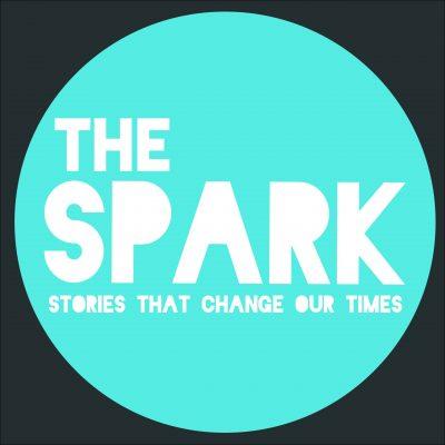 the spark new logo blue-01